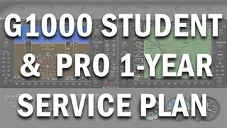 G1000 Student/Pro Service Plan - 1 Year